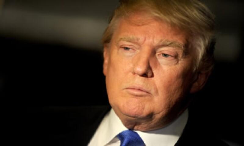 Las empresas de Donald Trump han sido  (Foto: AFP )