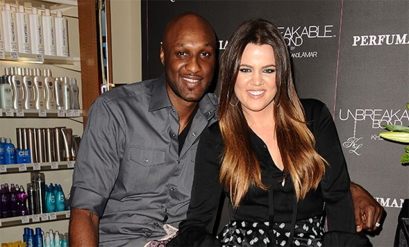 Lamar actualmente se encuentra mejor y aunque ella sigue al pendiente de él, su matrimonio ya es cosa del pasado.