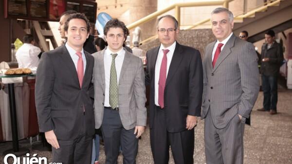 Alejandro Juraidin, Lorenzo Mosig, Ernesto Vega y Daniel Ángel