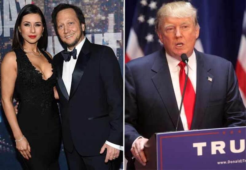 El actor defendió la nación de su esposa, asegurando que su hija en mitad mexicana y es una niña brillante.