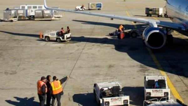 avion-Personal de pista