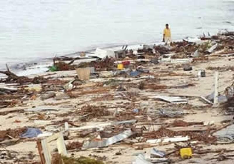 Fueron cuatro tsunamis los que azotaron Samoa tras un fuerte sismo. (Foto: AP)