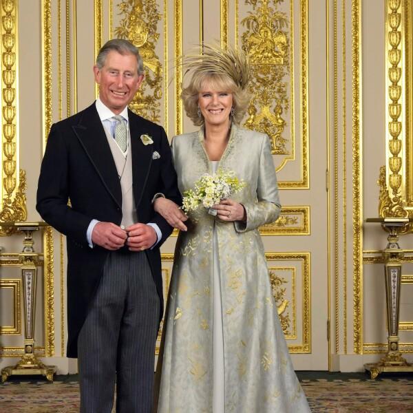 Prince Charles and Camilla Wedding Group