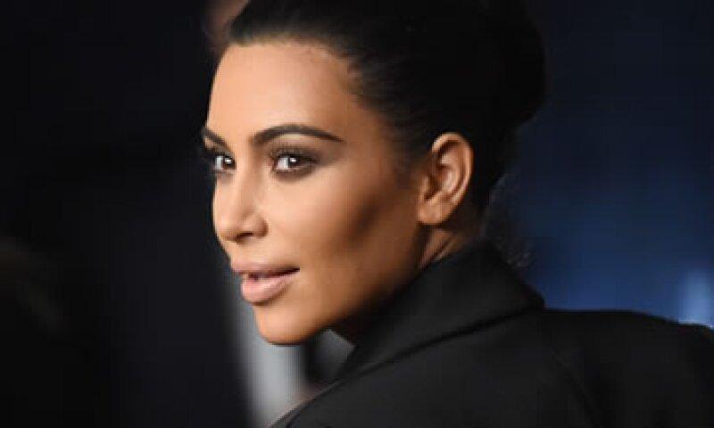 Kim Kardashian es una de las celebridades más activas en Twitter con 28.2 millones de seguidores. (Foto: Getty Images)