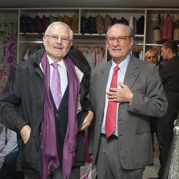 Gerard Fontaine y Marc Lebretón