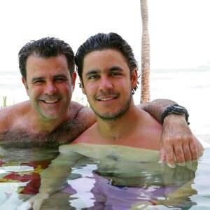 Eduardo Capetillo y Eduardo Capetillo Jr.