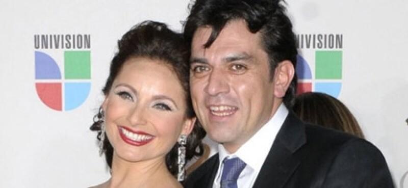 Jorge Salinas y Elizabeth Álvarez se conocieron en la telenovela `Fuego en la sangre´.