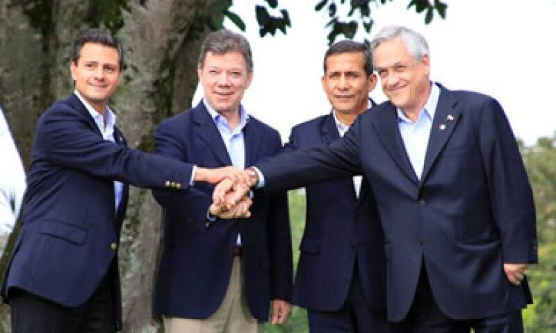 Los mandatarios de la Alianza del Pacífico no ocultaron su cara más neoliberal. (Foto: Notimex)