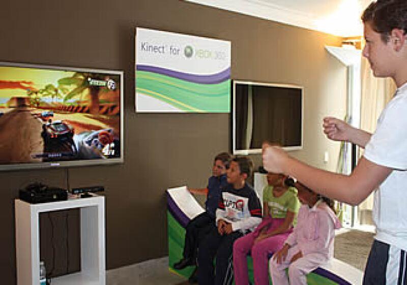El dispositivo Kinect estará a la venta a partir del mes de noviembre en todo el mundo.  (Foto: Cortesía Microsoft México)