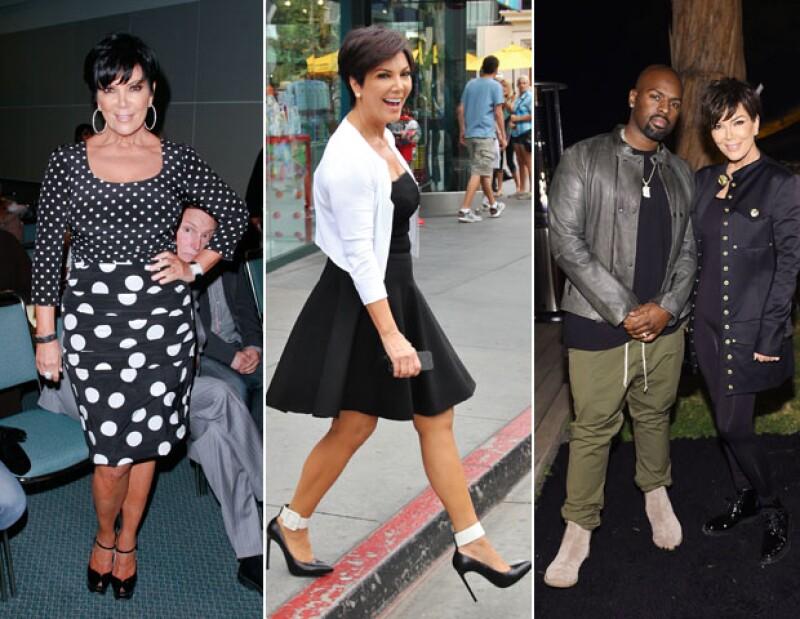 Kris Jenner y sus looks, más juveniles, en los últimos cinco años.