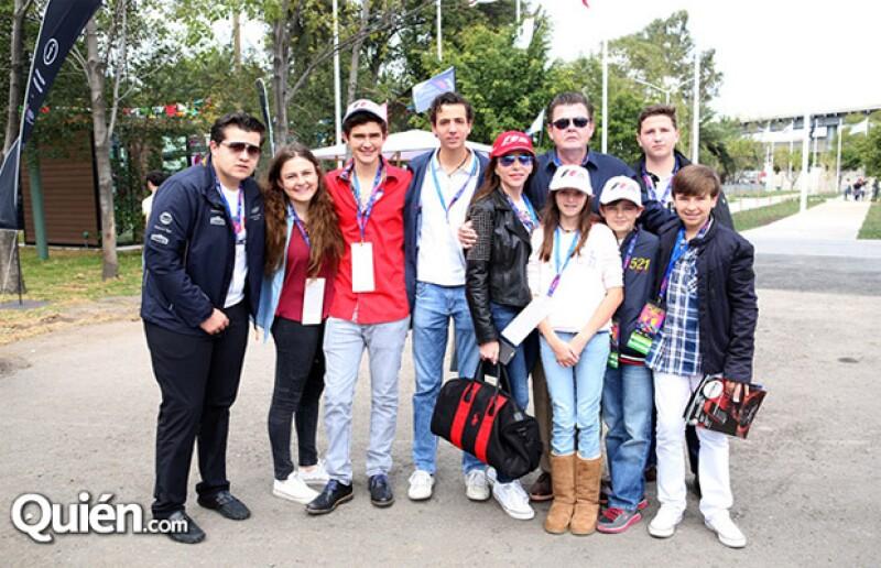 Celebra en grande la familia San Román Díaz Ordaz