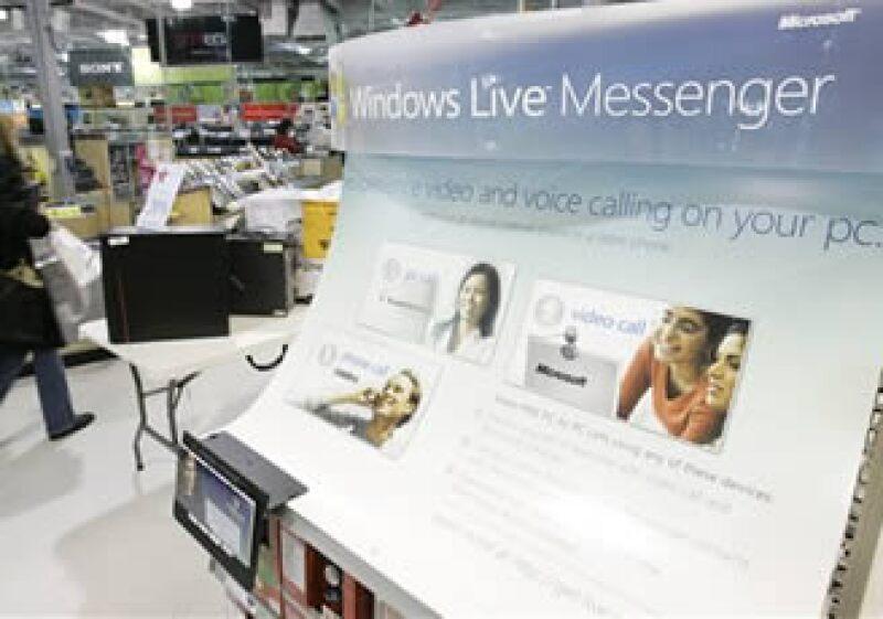 Messenger abarca 95% del mercado de usuarios de mensajería instantánea en México. (Foto: AP)