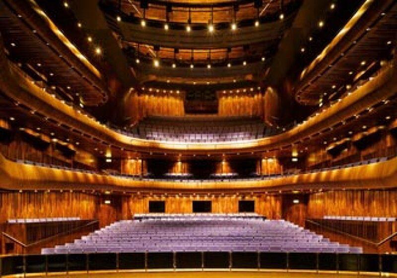 La Casa de Ópera de Wexford tiene un ambiente en el que se exalta el dramatismo.  (Foto: Ross Kavanagh)