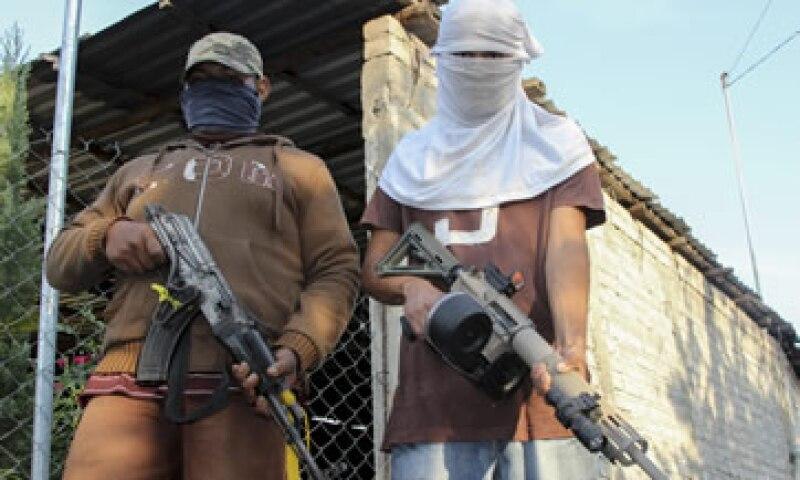 Los grupos de autodefensa tomaron el control de distintas comunidades en los primeros días de 2014. (Foto: Cuartoscuro)