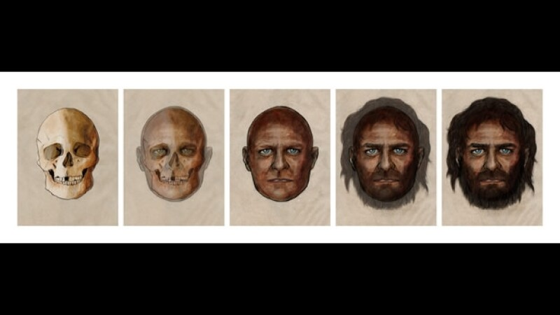 europeos 7,000 años piel ojos
