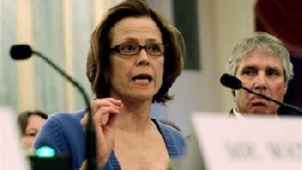 La actriz compareció el jueves ante una subcomisión de senadores de Estados Unidos para pedir medidas de protección a los océanos frente al cambio climático.
