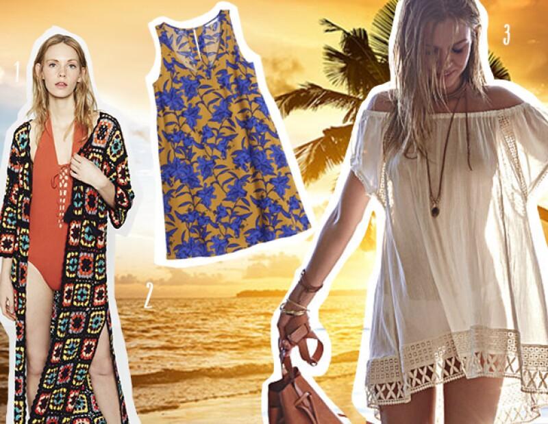 De izquierda a derecha: Zara, H&M y Victoria´s Secret.
