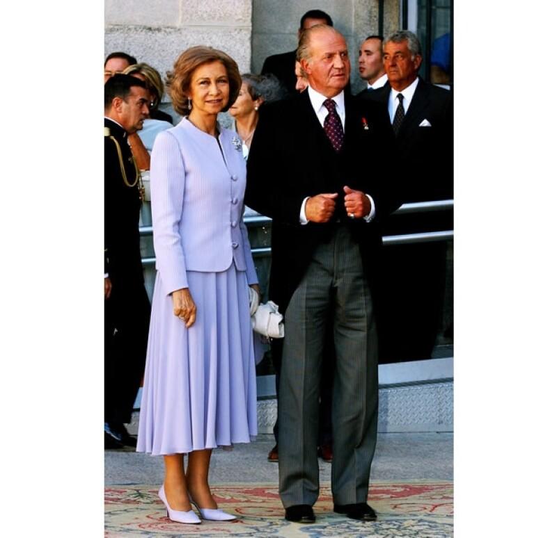 Sofía de Grecia se educó bajo la religión ortodoxa, pero se convirtió en católica para poder casarse con el Juan Carlos de España.