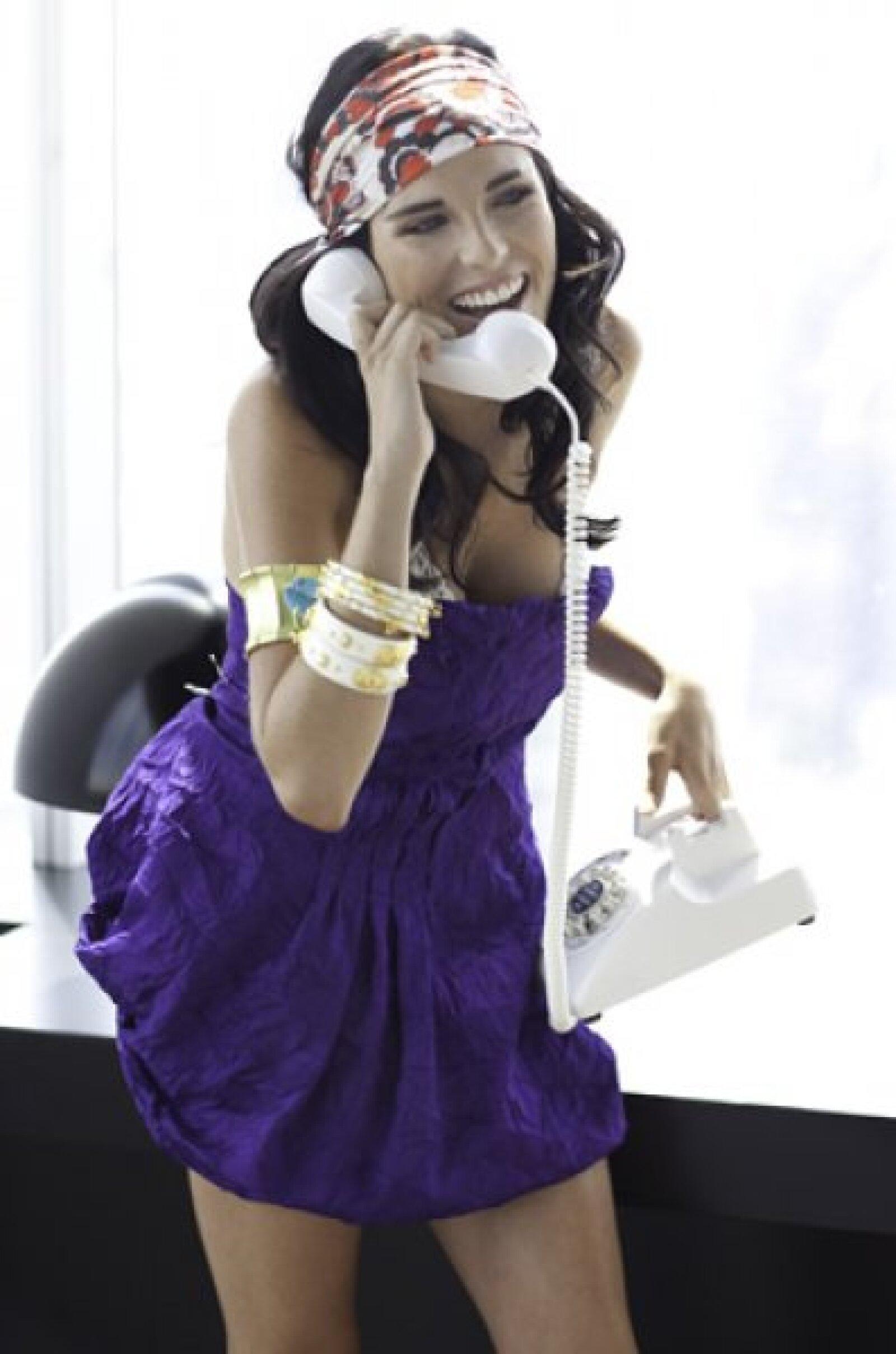 La actriz de Verano de amor tiene una gran personalidad dentro y fuera de cámaras.