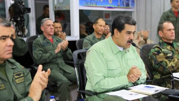 Nicolás Maduro frontera Venezuela Brasil