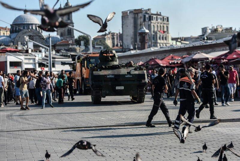 El viernes se registró un intento de golpe de Estado en Turquía.