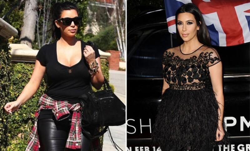 La socialité se empeña en utilizar ropa que no le favorece a su nueva figura.