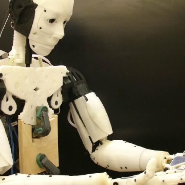 robot, papel, tamano