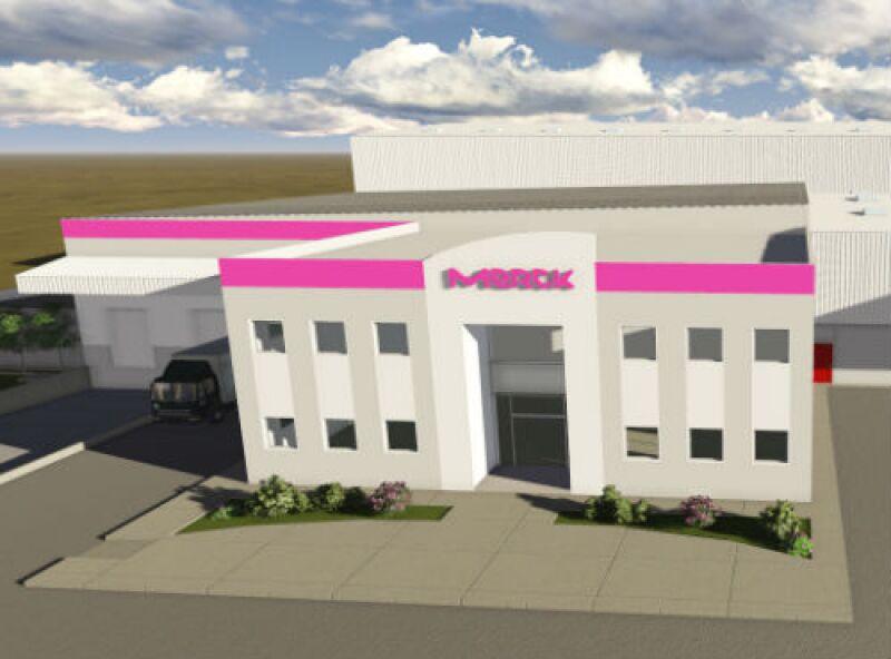 Merck proyecto de centro de distribuci�n
