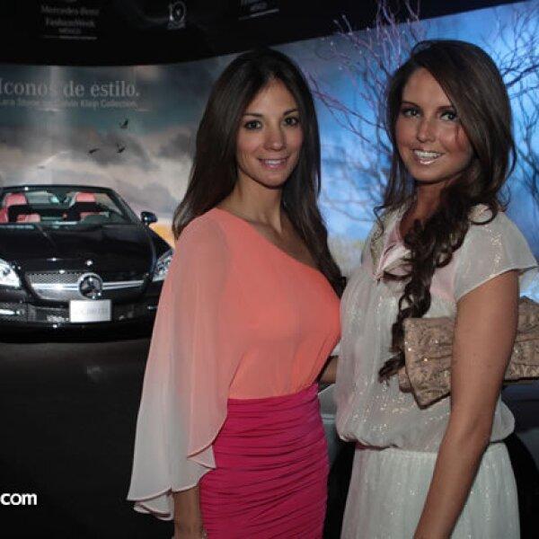 Marcela García y Karla Díaz Leal