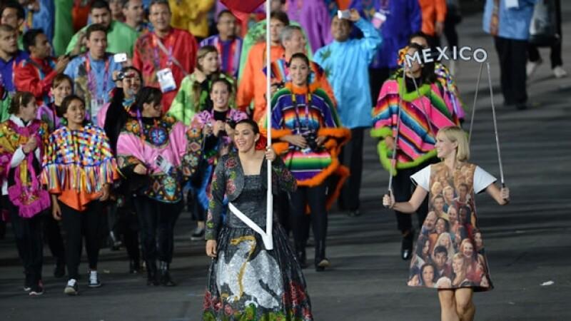 México delegación olímpica
