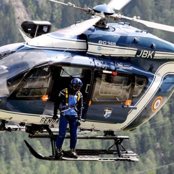 helicoptero, rescate, montañismo