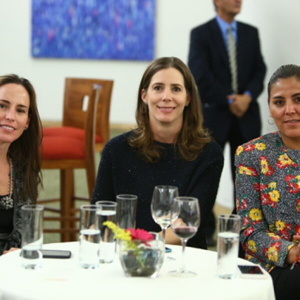 María Suárez, Maite Esteve y Laura Mendoza