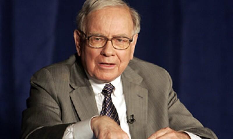 La compañía de Buffett también hizo varias inversiones en acciones financieras. (Foto: AP)