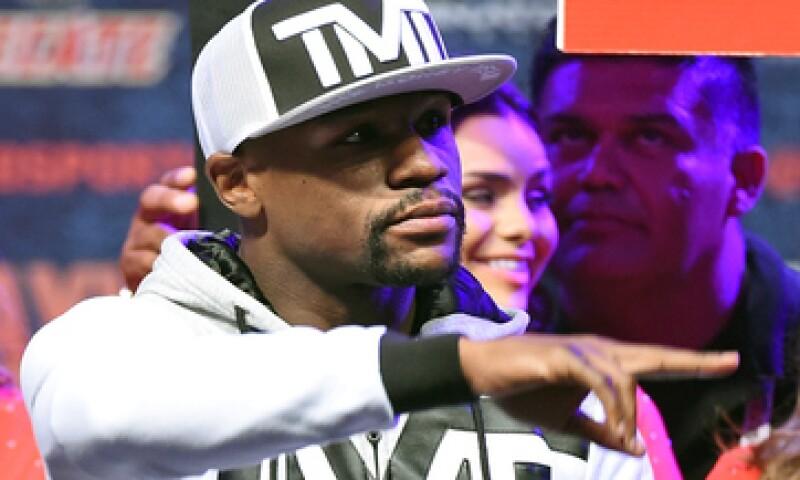 Mayweather lleva un récord de 47 peleas invicto. (Foto: Getty Images )