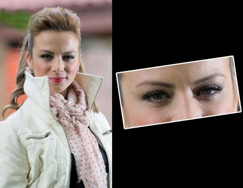 Uno de los principales atractivos de Silvia Navarro son sus ojos.