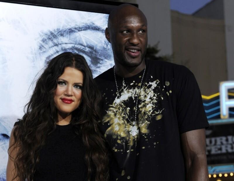 Khloé Kardashian y el basquetbolista de Los Lakers, Lamar, tienen su propio programa de televisión.