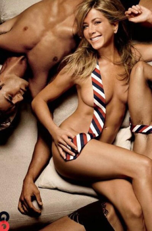 Jennifer Aniston posa desnuda en portada después de 6 años