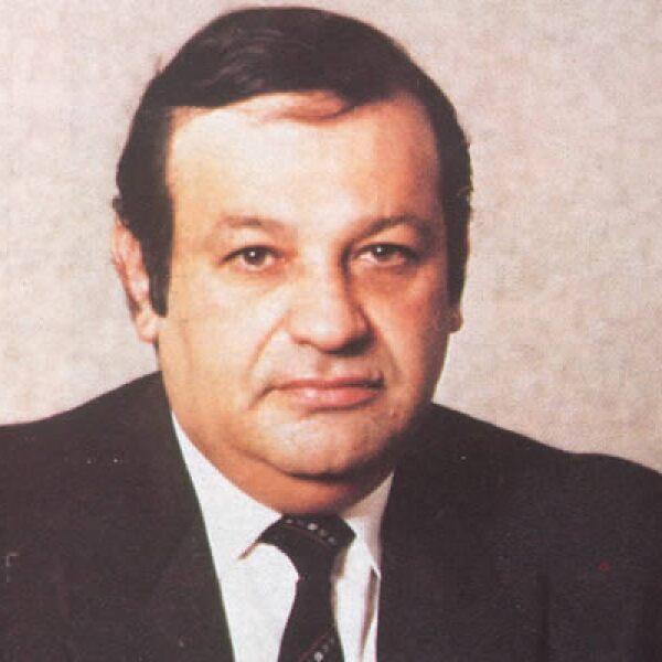 Carlos Slim Helú a finales de diciembre de 1990, al tomar la administración de Telmex.