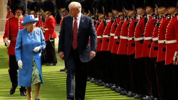 Reunión con Isabel II