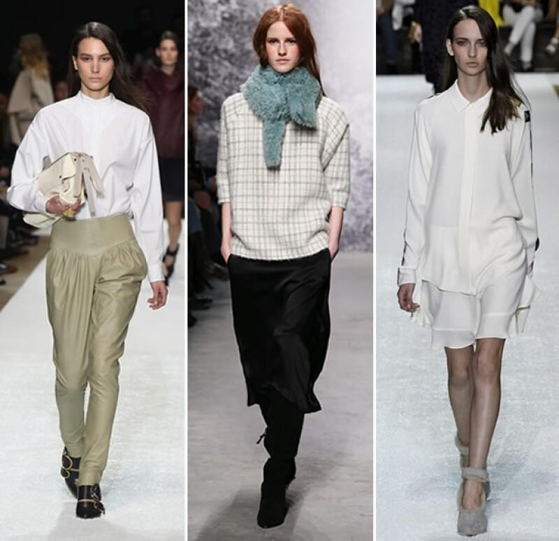 Ya sea para ir a trabajar o para un look formal, tener una blusa blanca clásica jamás pasa de moda.