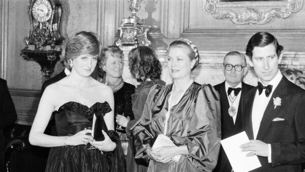 Princesa Diana, Grace Kelly y príncipe Carlos