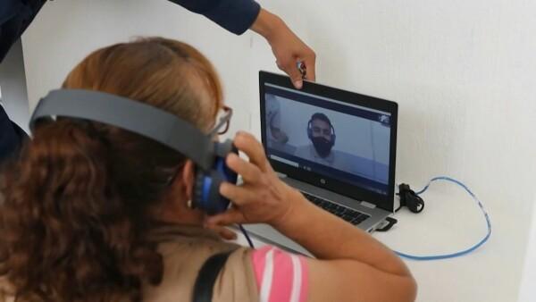 Las videollamadas suplen a los abrazos en estas cárceles mexicanas