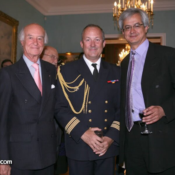José Carral,Christophe Suard y Eduardo Echach