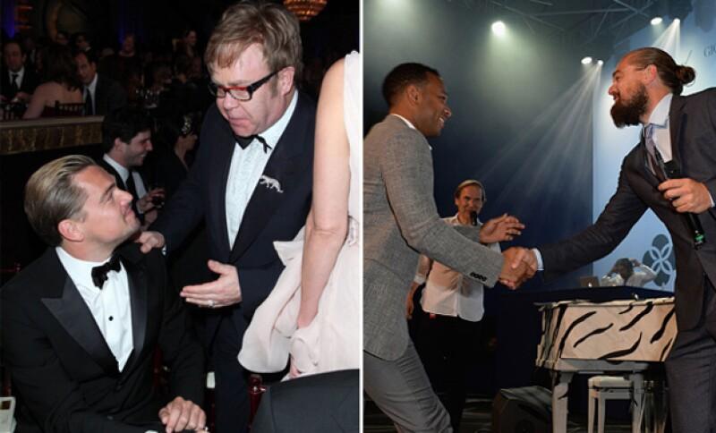 Elton y John son de sus amigos músicos más cercanos.