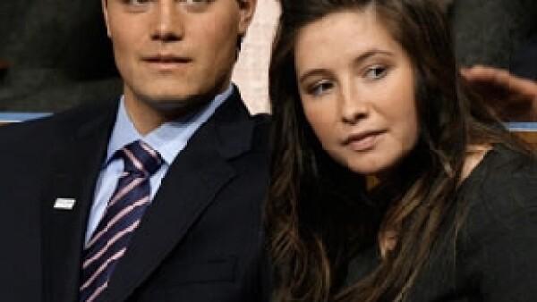 Bristol Palin canceló su segundo compromiso matrimonial con Levi Johnston tras informarse que éste había embarazado a otra mujer.