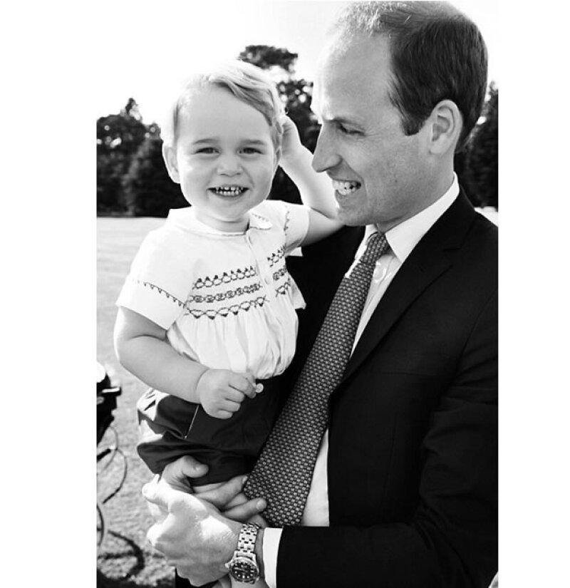 Dos generaciones de herederos al trono.