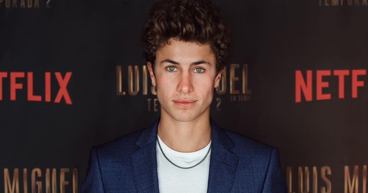 Juanpa Zurita reveals how he managed to get his role in the Luis Miguel series