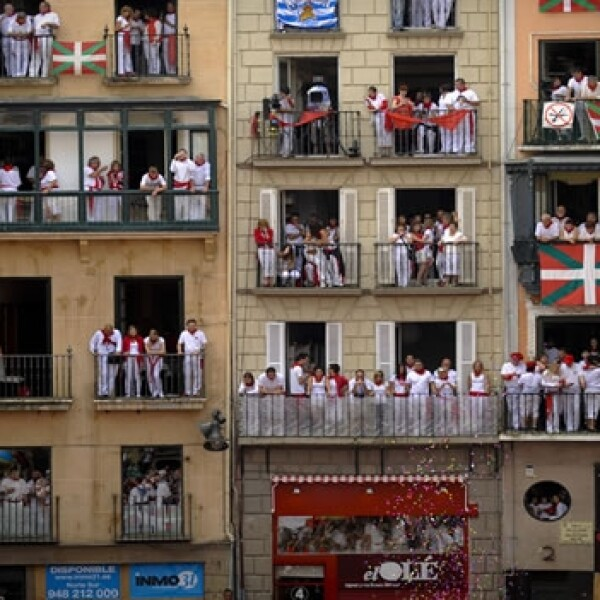 SANFERMINES, PAMPLONA, ESPAÑA, TOROS
