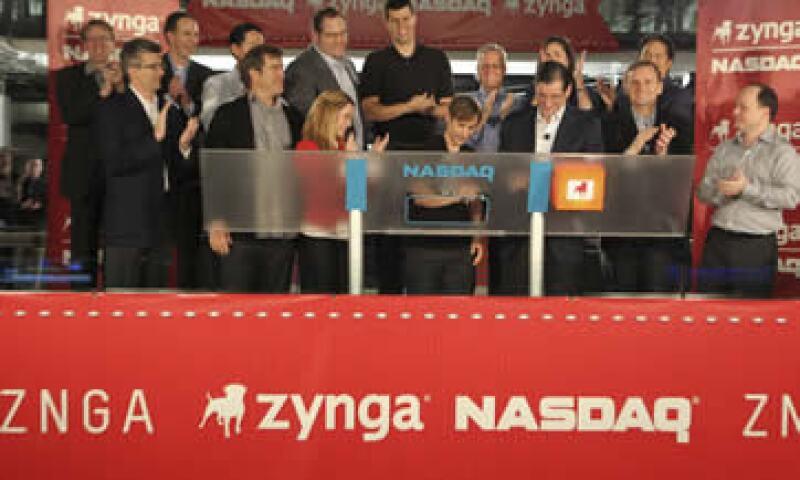 Las acciones de Zyngan subieron hasta 10% en sus primeras transacciones. (Foto: Reuters)