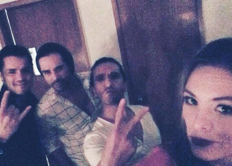 Begoña Narváez publicó una foto con su ex, José Ron.